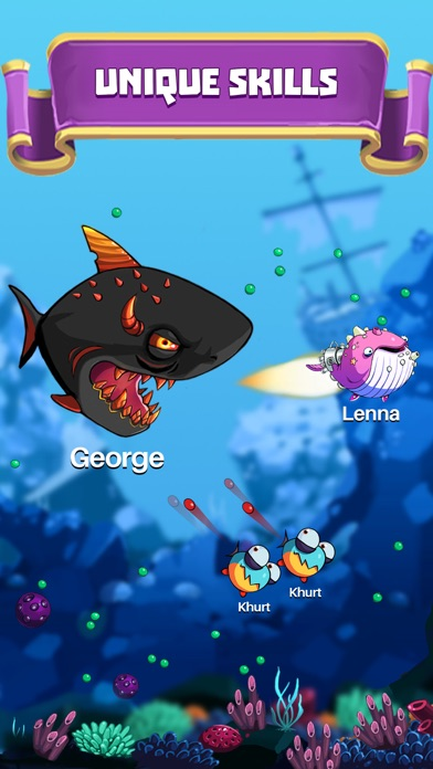 Hungry fish attack app report on mobile action for Hungry fish game