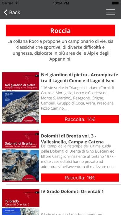 Screenshot of Idea Montagna - Editoria e Alpinismo2