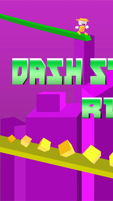 Screenshot #3 for Dash Striker Run - Tiny Switch Chameleon Color