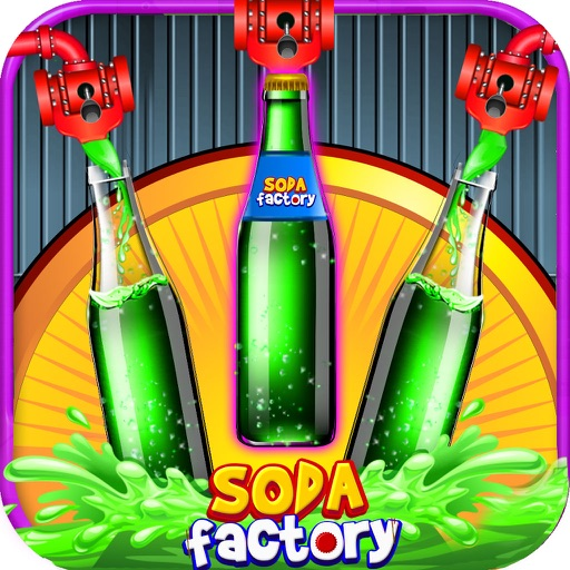 Soda Factory For Kids – Ice Cola Maker Game