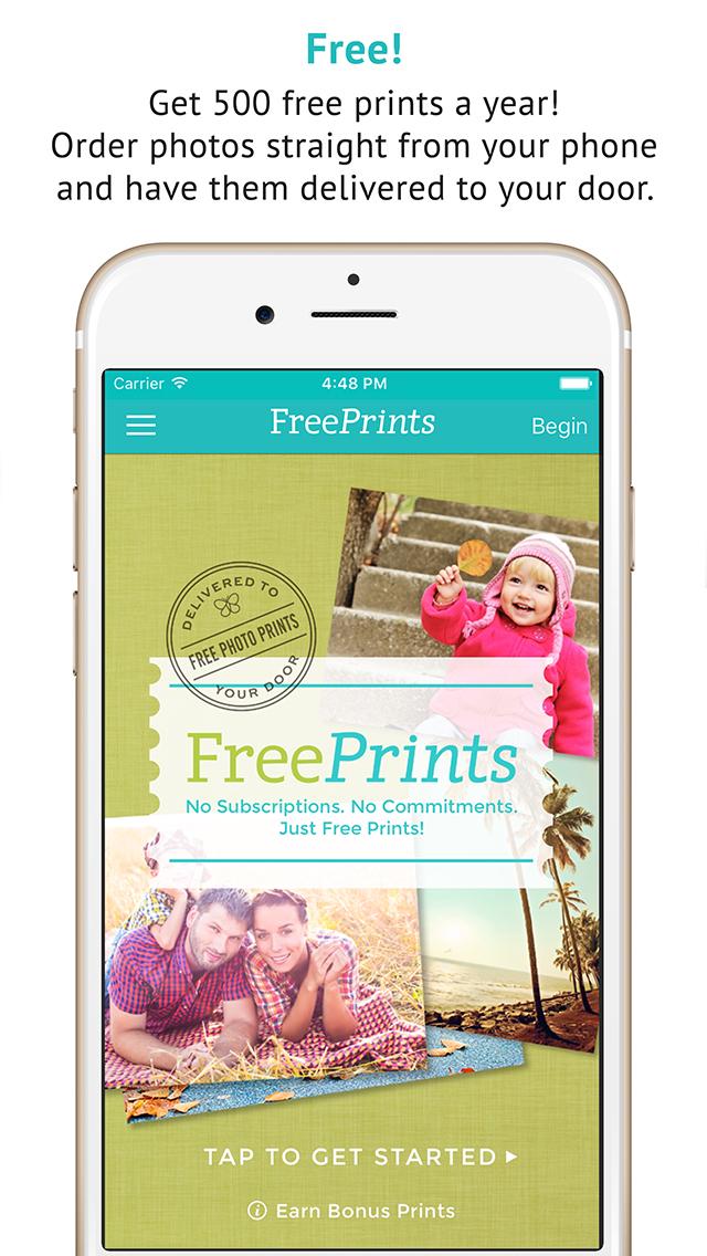 FreePrints - Free Photos Delivered