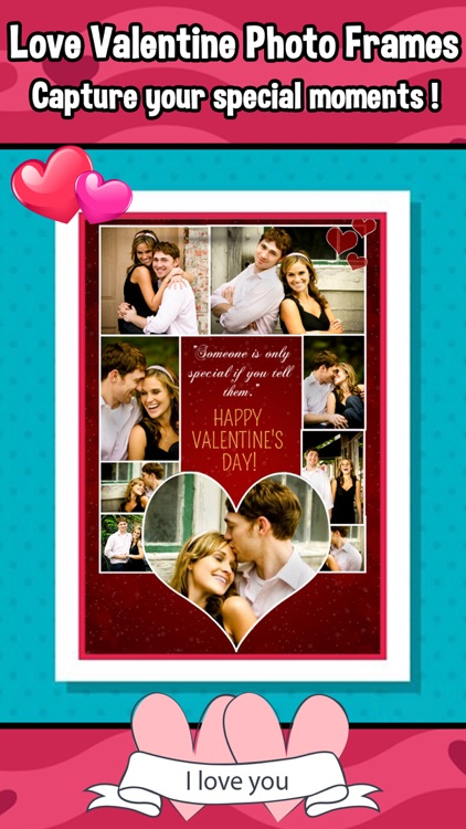 valentines day collage frames love photo editor