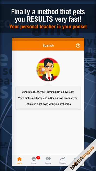 MosaLingua Business Spanish Screenshots