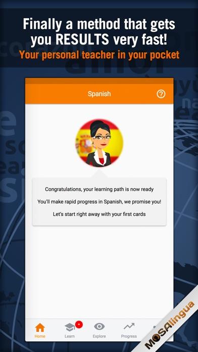 MosaLingua Business Spanish Screenshots