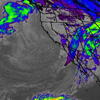 Satellite Weather Radar