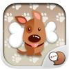 Cute Puppies Stickers Themes by ChatStick