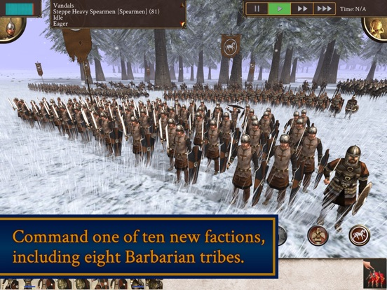 ROME: Total War - Barbarian Invasion iPad