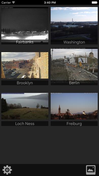Screenshot von Webcams Lite - deine Kameras im Blick1