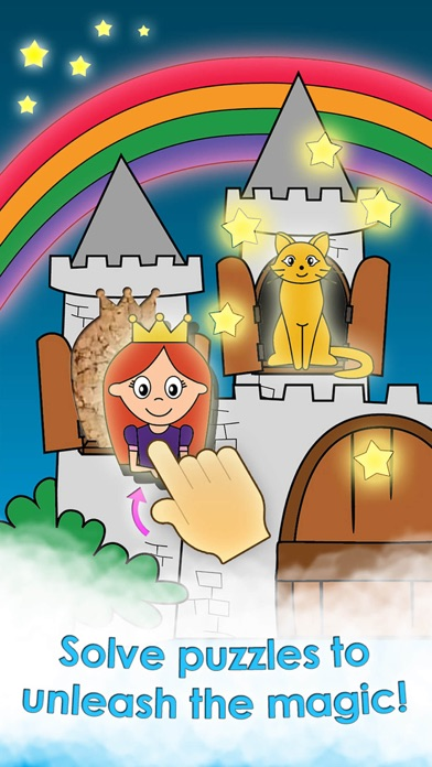 Screenshot #5 for Princess Games for Girls Games Unicorn Kids Puzzle