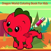 Dragon World Coloring Book For Kids