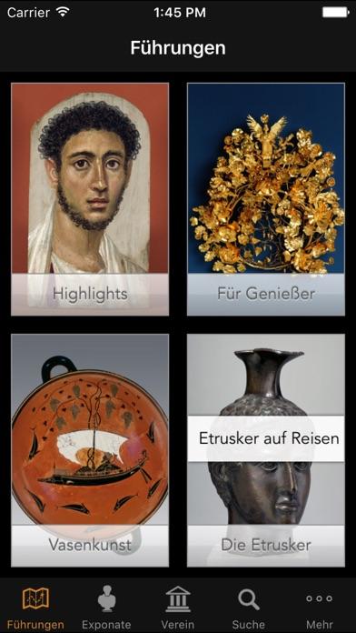 Antikensammlungen München Mediaguide Screenshot