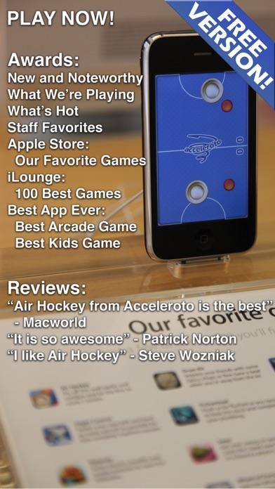 Screenshot of Air Hockey Gold2