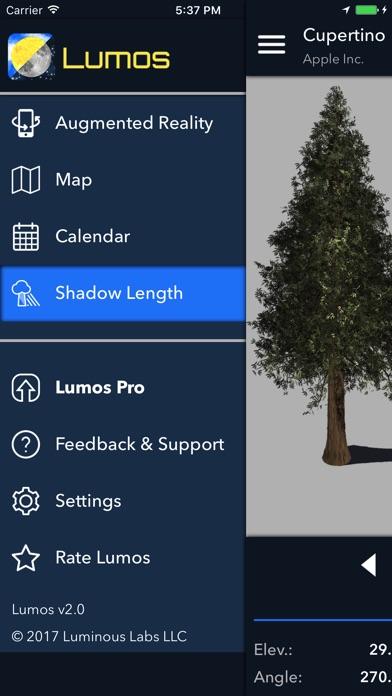 Screenshot #5 for Lumos: Sun and Moon Tracker