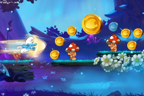 Smurfs Epic Run screenshot 2