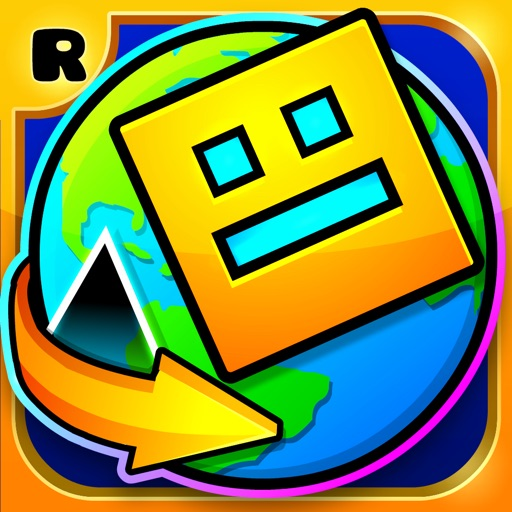 Download Geometry Dash World free for iPhone, iPod and iPad