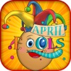 Happy April Fools Day Funny Stickers-Photos Pranks