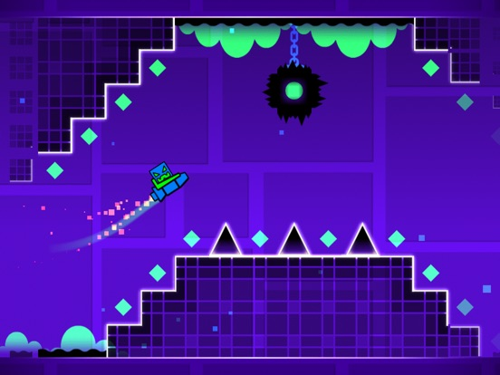 Screenshots of Geometry Dash for iPad