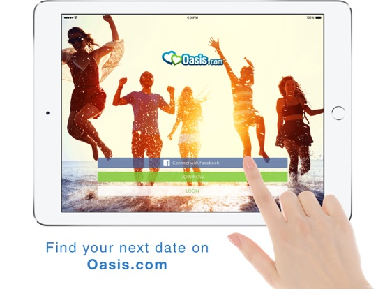 oasis dating phone app