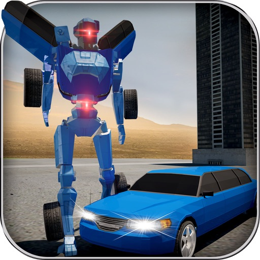 Limo Car Robot Simulator iOS App