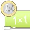 Rechnen üben mit dem Euro