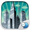 City Town Emoticons Sticker for iMessage ChatStick