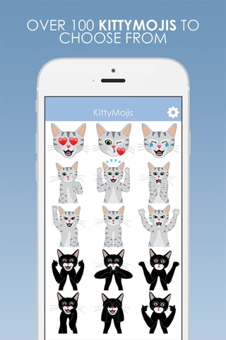 KittyMojis - Kitty Emojis and Stickers screenshot 2