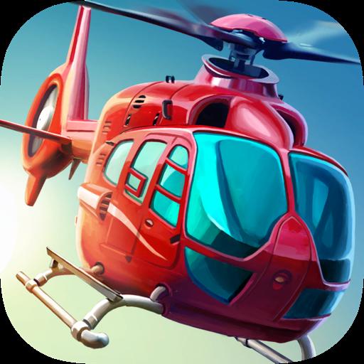 Вертолет: Симулятор 3D Deluxe