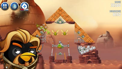 Screenshot of Angry Birds Star Wars II4