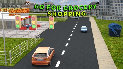 スーパーマーケットの車 - 市街モールシミュレータのスクリーンショット2