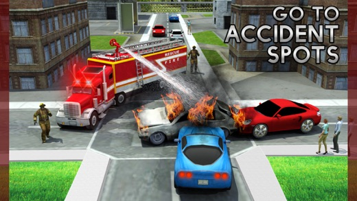 Rescue Fire Truck Simulator Game 911 Firefighter On The App Store