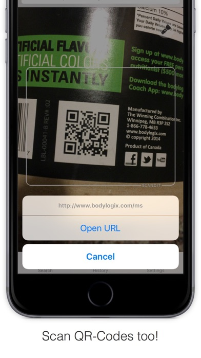 Bakodo Pro - Barcode Scanner & QR Code Reader app