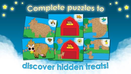 Ферма Игры Пазлы животных для детей малышей Apps Screenshot