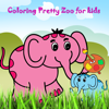 Coloring Pretty Zoo for kids Wiki