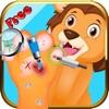 寶貝寵物獸醫腳指(趾)博士(DR),虛擬指甲和  腳水療沙龍孩子們遊戲的靚女
