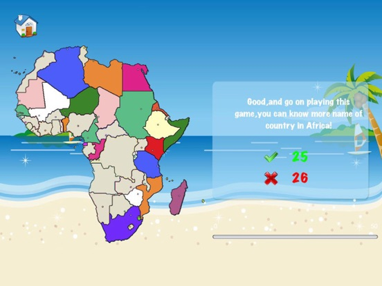 Africa map game africa puzzle map on the app store sciox Images