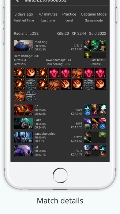 dota 2 tracker on the app store