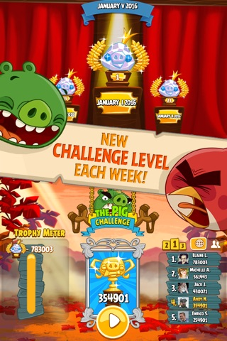 Angry Birds Seasons screenshot 4