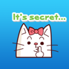 download A White Cat Stickers