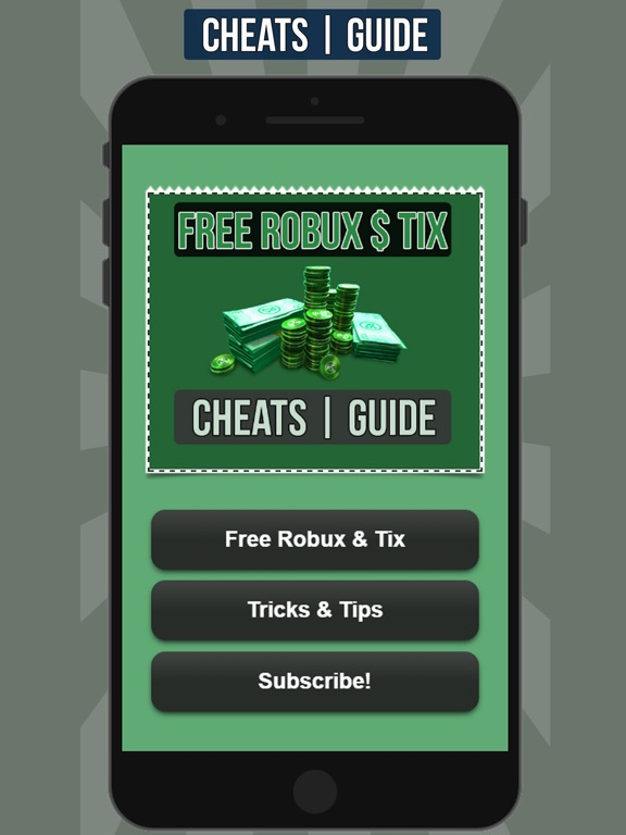 Screenshots of Free Robux for Roblox Cheats and Guide for iPad