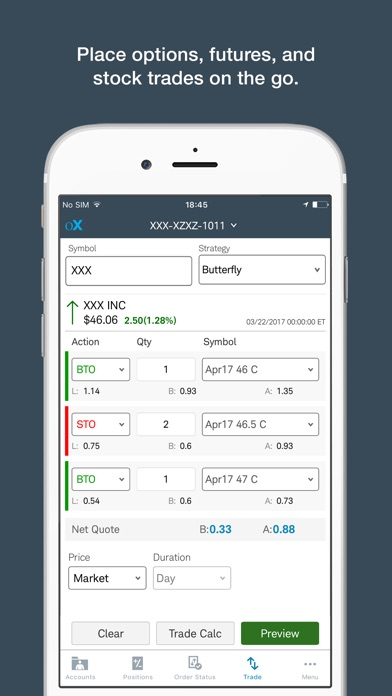 optionsXpress Mobile on the App Store