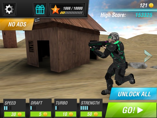 Screenshot #1 for Evil Force: Soldiers vs Monsters