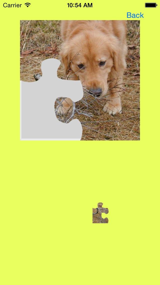 犬(イヌ,いぬ)のジグソーパズルのスクリーンショット2