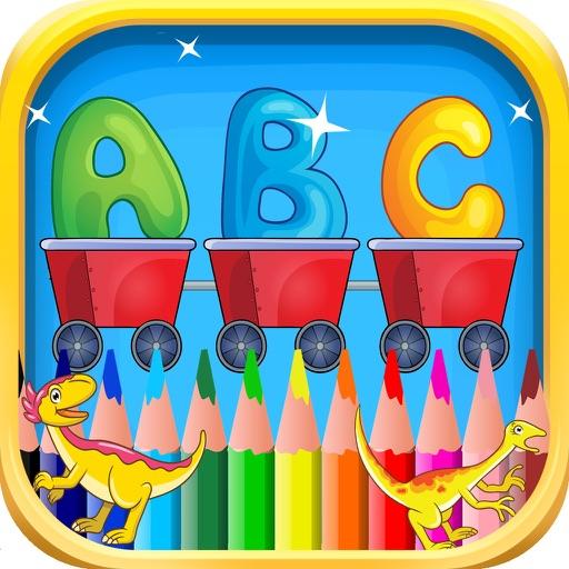 Abc Kindergarten & coloring book pictures iOS App
