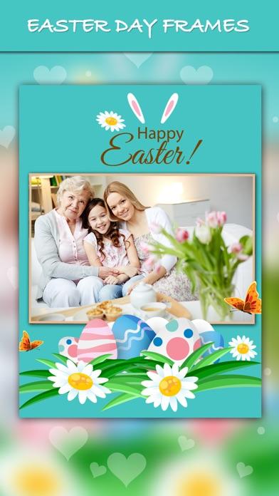 iphone screenshot 1 - Easter Photo Frames