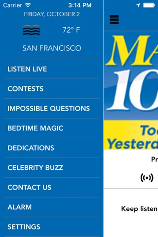 MAGIC 106.7- Boston screenshot 2