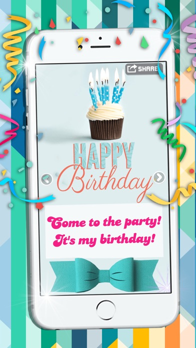Card Wishes For Friends Family Screenshot On IOS Happy Birthday