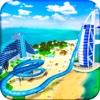 VR Beach Water Sliding - Water stunt & ride