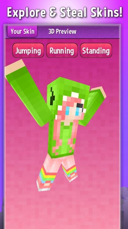 cool girl minecraft skins