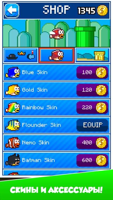 Splashy Fish - Adventure of Flappy Tiny Bird Fish Скриншоты6
