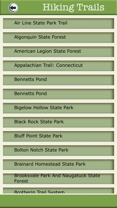 Connecticut Camping & Hiking Trails,State Parks